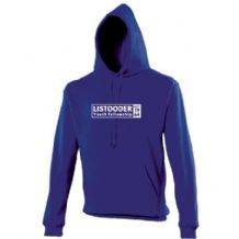 Listooder Hoodie Adults - Royal Blue 2018